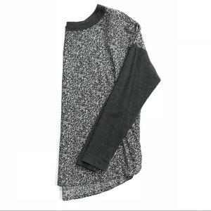 Lou & Grey light weight gray long sleeve tee